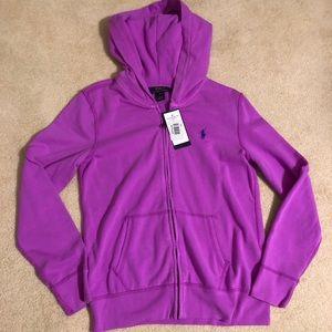 Purple Polo Ralph Lauren Hoodie